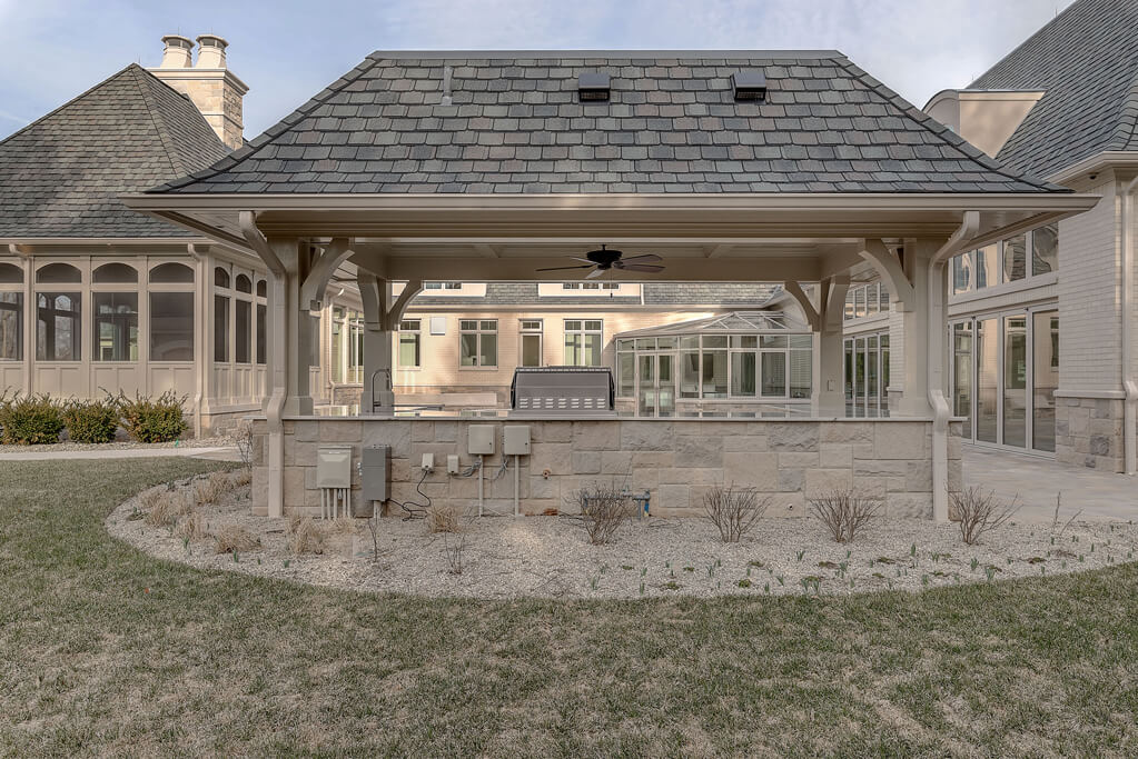 Ennis Custom Homes - Outdoor Kitchens - Best Indianapolis Home Builders in Carmel, IN - Outdoor Kitchen