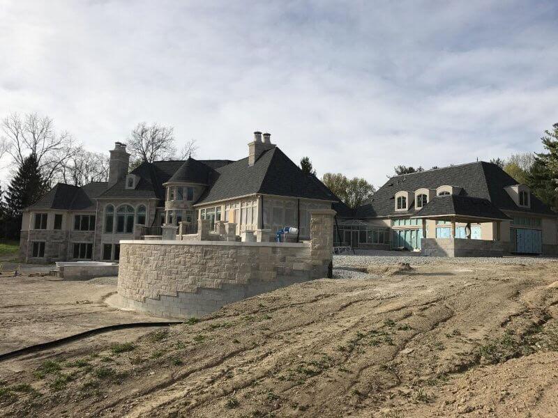 Custom Home Construction Carmel - mcconst Side View