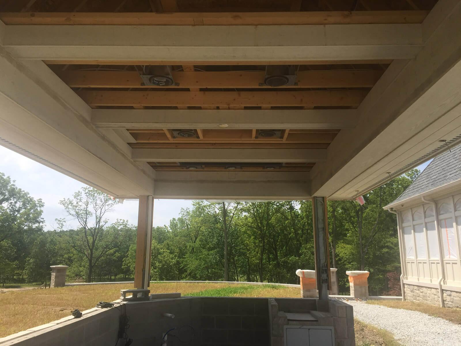 Custom House Builder Carmel - mcconst Out Kitchen