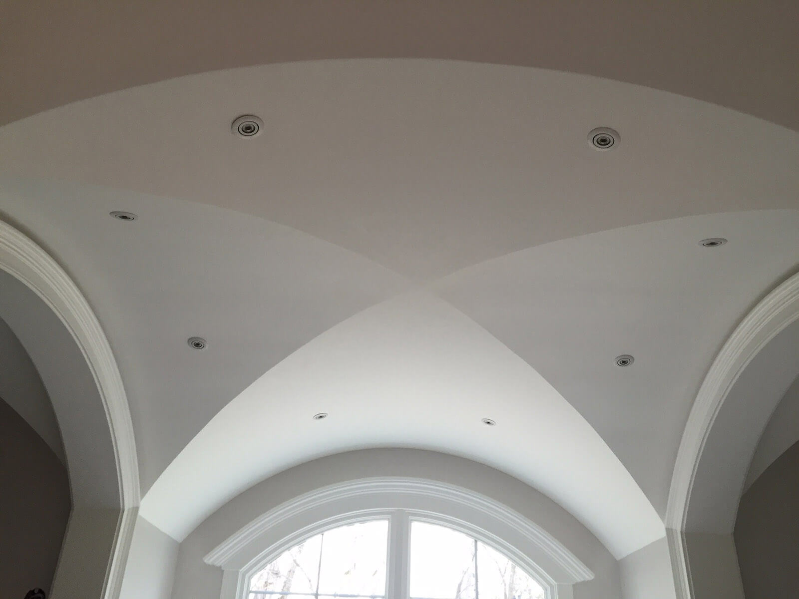 Indiana Luxury Home Builders - mcconst Groin Vault