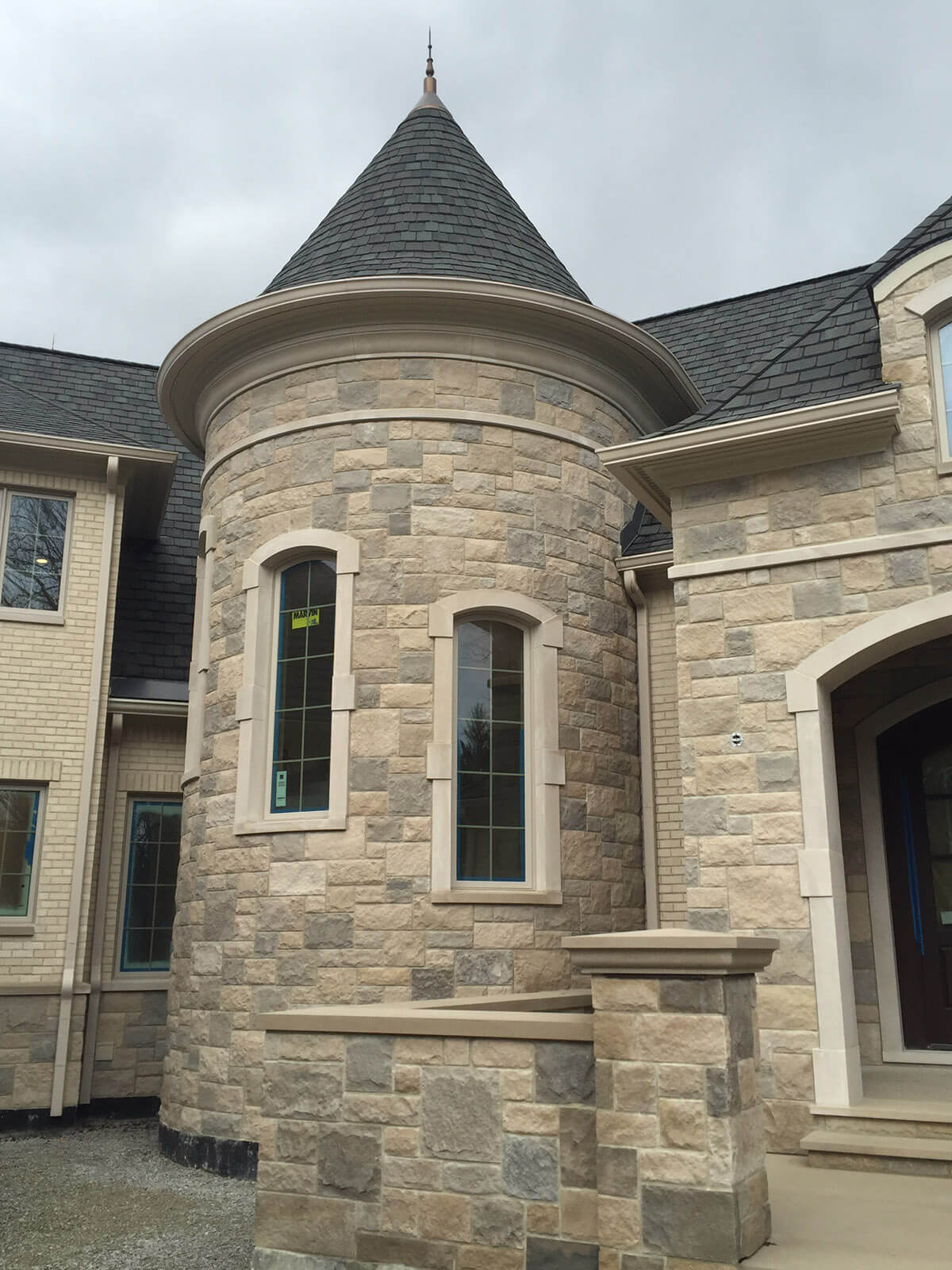 Geist Home Construction - mcconst Front Turret