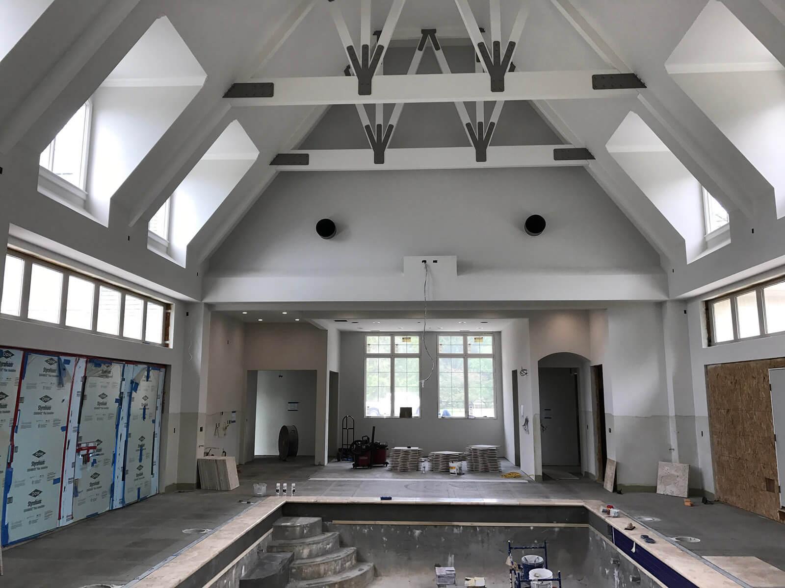 Luxury Home Builders Carmel - mcconst Indoor Pool