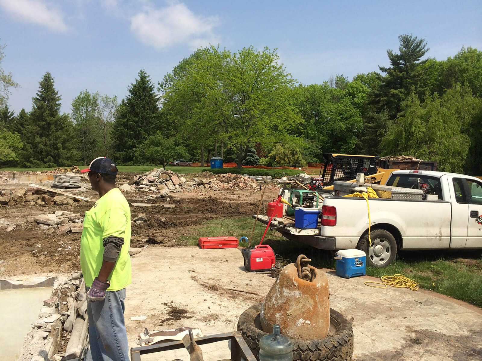 Ennis Custom Homes - Home Demolition - Best Indianapolis Home Builder in Carmel, IN - 116th st demo 6