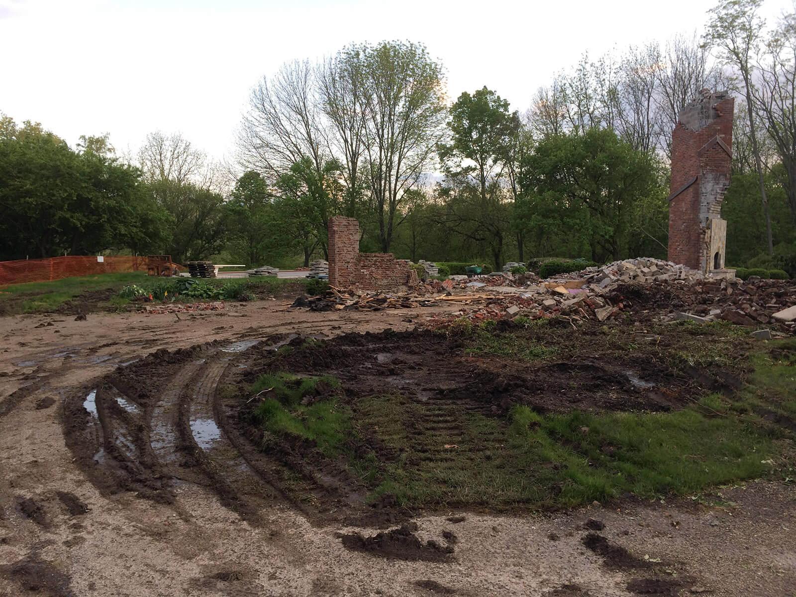 Ennis Custom Homes - Home Demolition - Carmel, Indiana Luxury Residential Construction - 116th st demo 4
