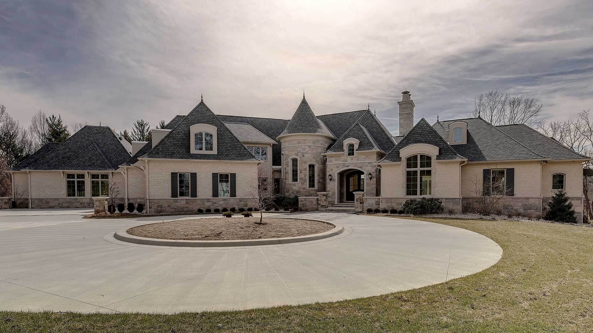 Ennis Custom Homes - Carmel, IN Luxury Home Builders - Front View of Home