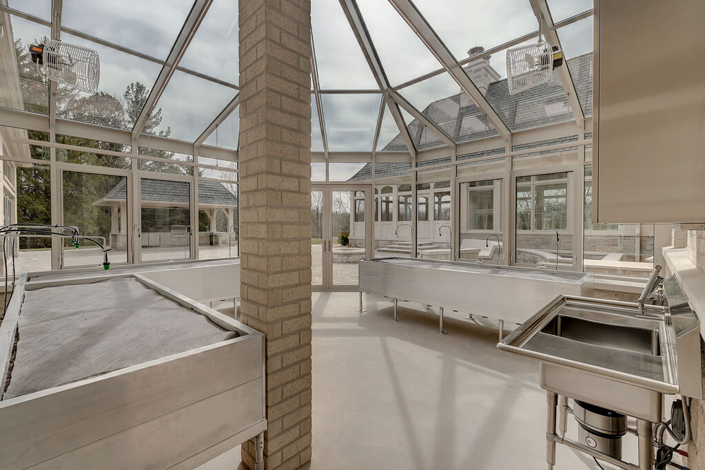 Ennis Custom Homes - Greenhouse - Carmel, IN Luxury Residential Constructions - Greenhouse 2