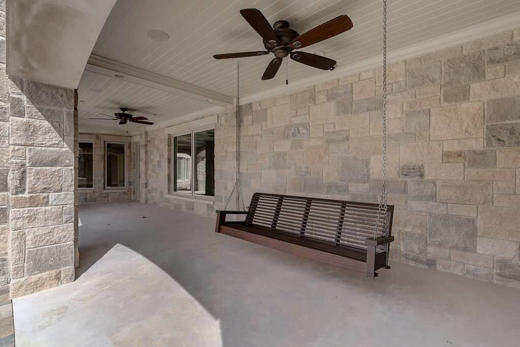 Ennis Custom Homes - Outdoor Living Spaces - Carmel, IN Best Indianapolis Home Builder - Rear Covered Terrace