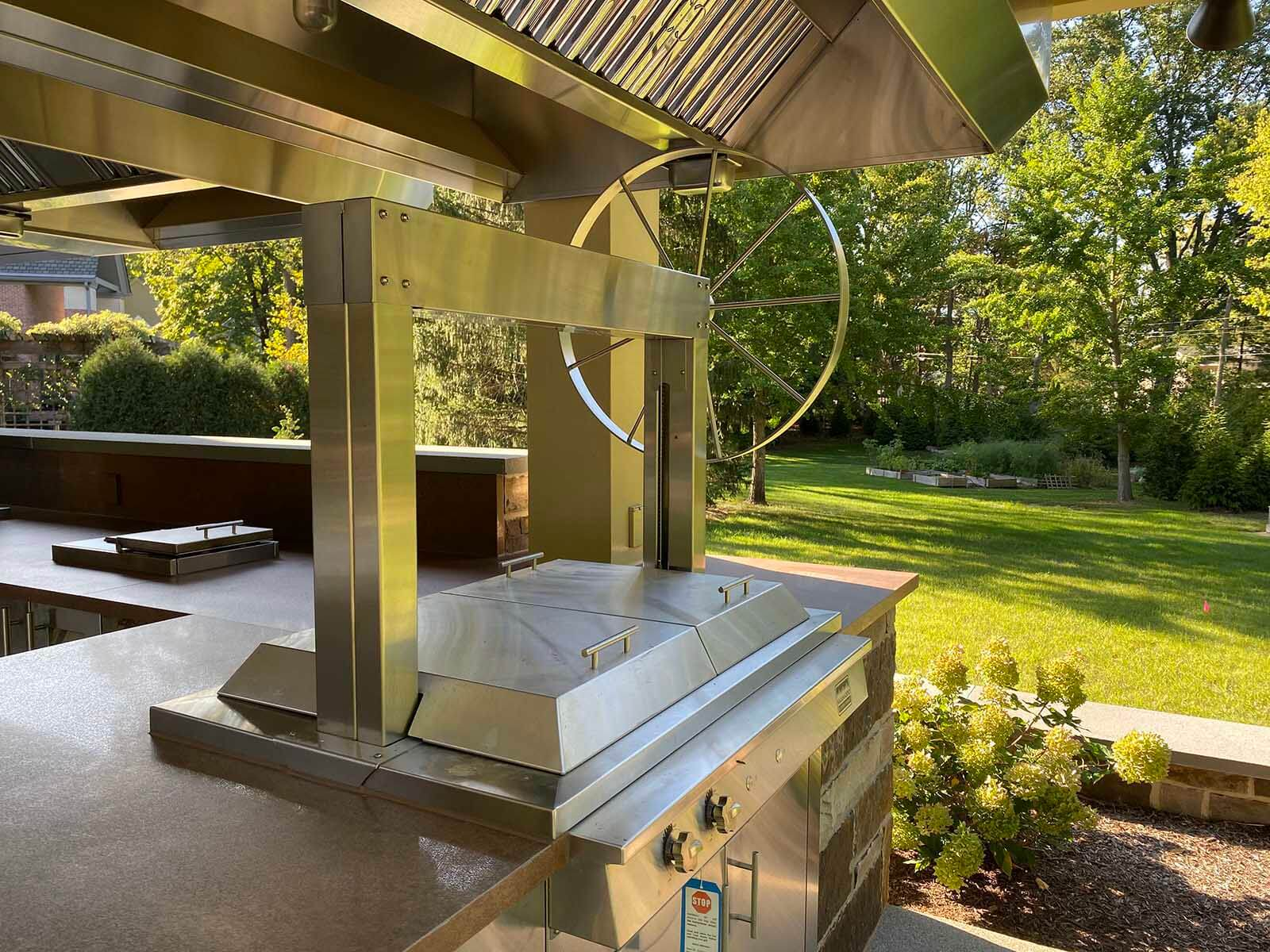Carmel Luxury Residential Construction - Outdoor Kitchen